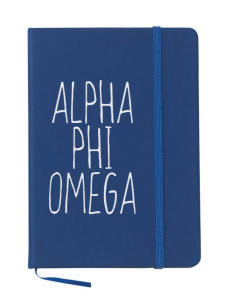 Alpha Phi Omega Mountain Notebook