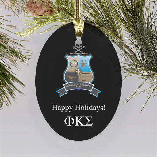 Phi Kappa Sigma Color Crest Ornament