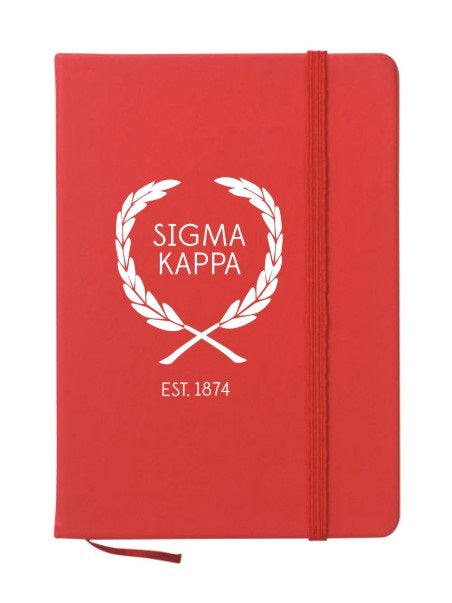 Sigma Kappa Laurel Notebook