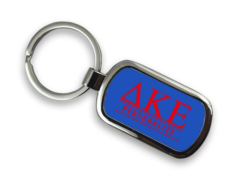 Delta Kappa Epsilon Chrome Key Chain