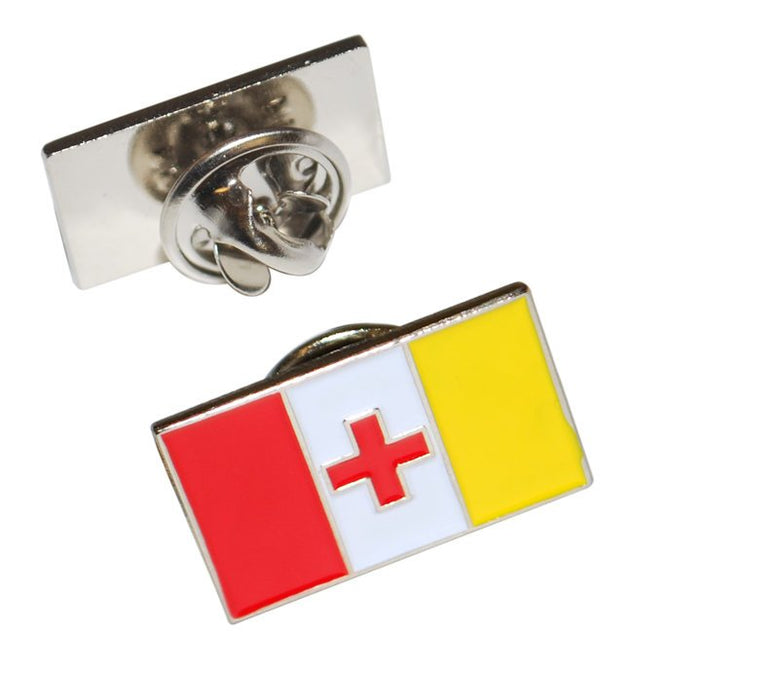 Kappa Alpha Fraternity Flag Pin