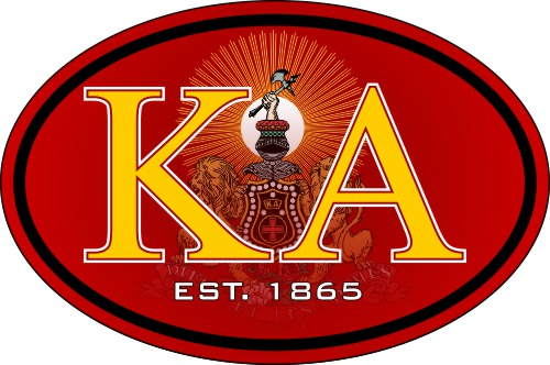 Kappa Alpha Color Oval Decal
