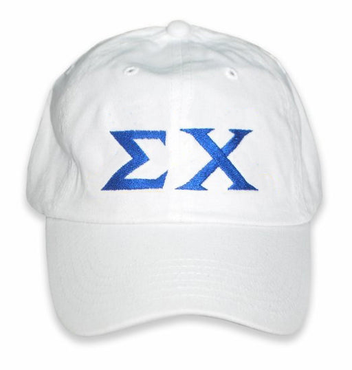 Sigma Chi Greek Letter Embroidered Hat
