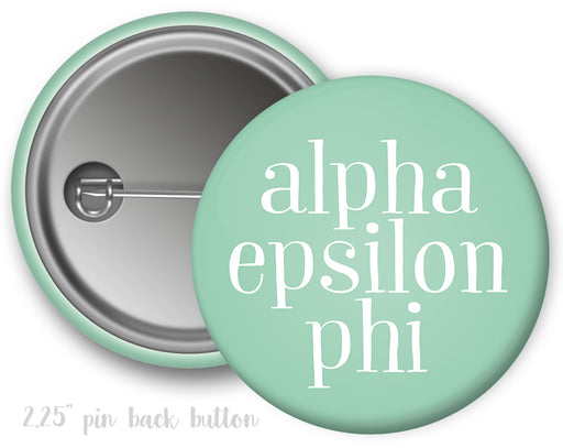 Alpha Epsilon Phi Simple Text Button