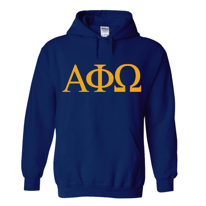 Alpha Phi Omega Fraternity World Famous 25 Greek Hoodie World Famous Hoodie