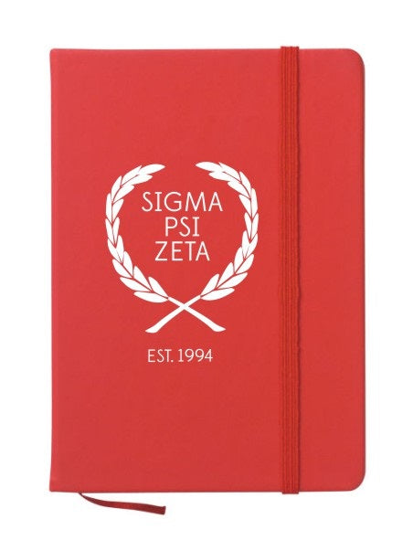 Sigma Psi Zeta Laurel Notebook