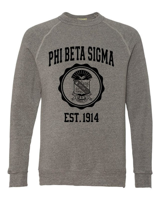 Phi Beta Sigma Alternative Eco Fleece Champ Crewneck Sweatshirt