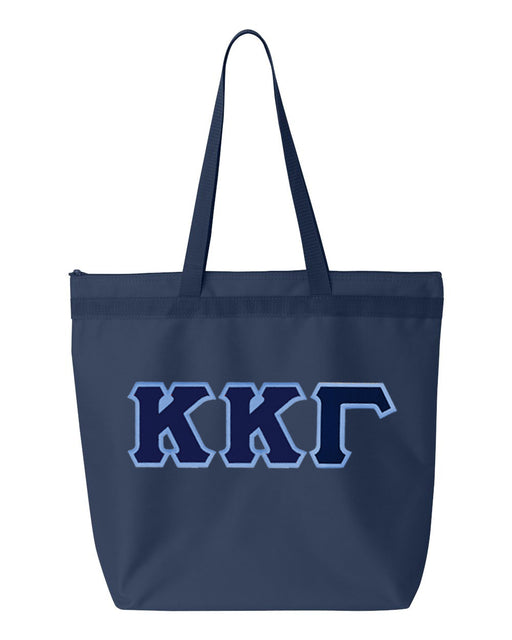 Kappa Kappa Gamma Greek Lettered Game Day Tote