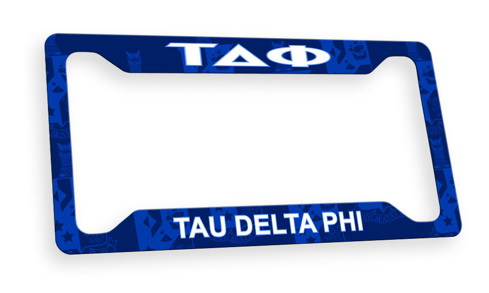 Tau Delta Phi New License Plate Frame