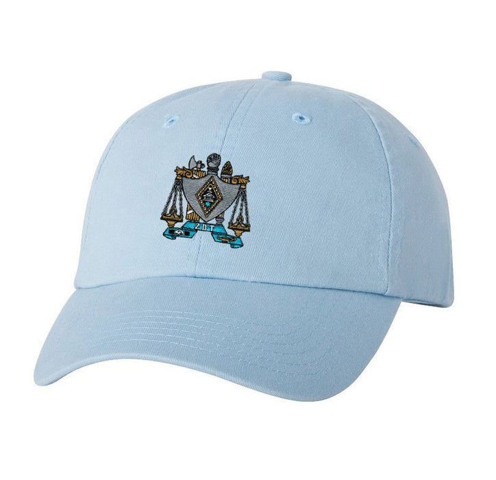 Zeta Beta Tau Crest Baseball Hat