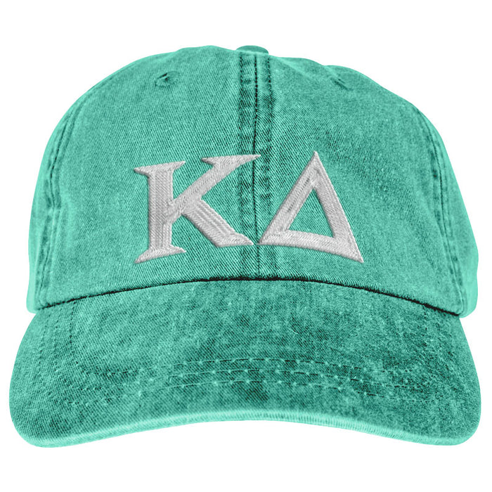 Kappa Delta Greek Letter Embroidered Hat