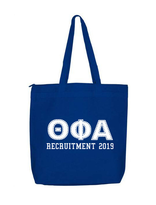 Theta Phi Alpha Collegiate Letters Event Tote Bag