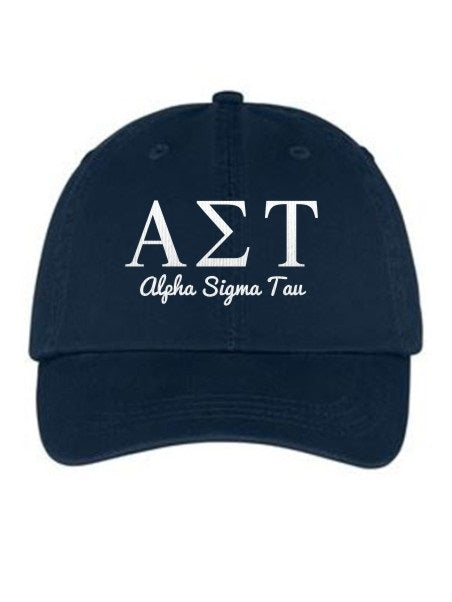 Alpha Sigma Tau Collegiate Curves Hat