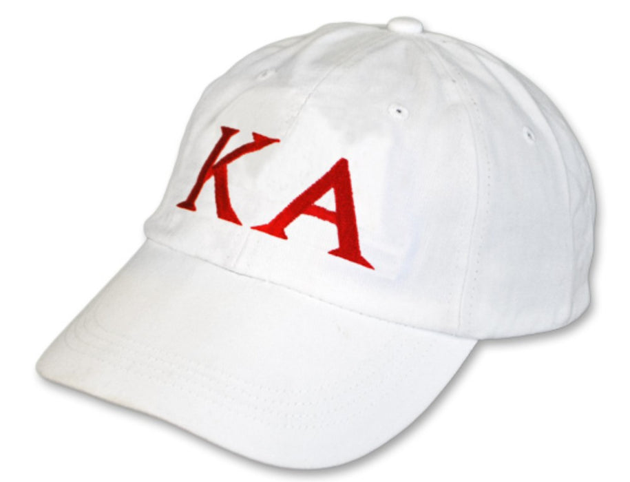 Kappa Alpha Greek Letter Embroidered Hat