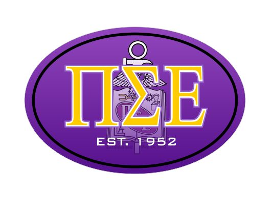 Phi Sigma Epsilon Color Oval Decal Color Oval Decal