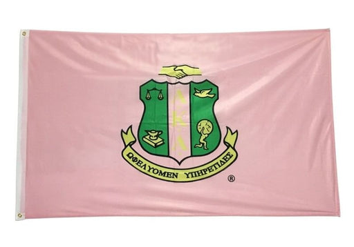 Alpha Kappa Alpha Big Flag