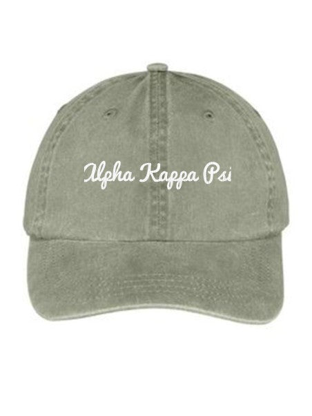 Alpha Kappa Psi Nickname Embroidered Hat