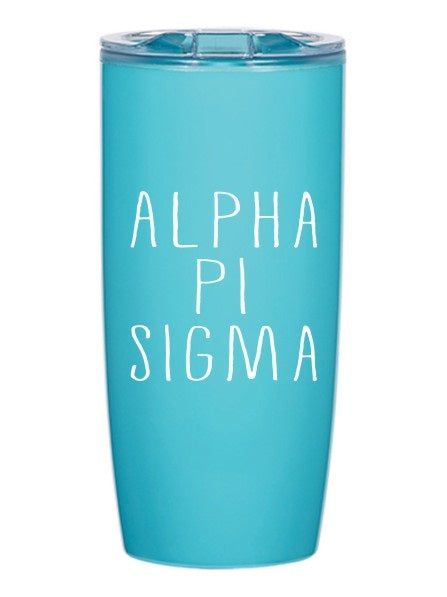 Alpha Pi Sigma Mountain Retreat 19 oz Everest Tumbler