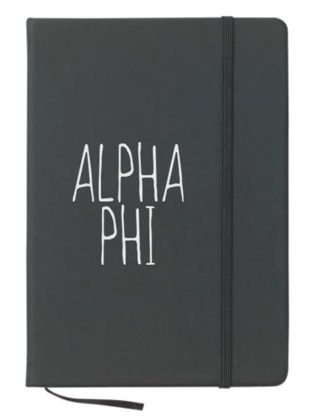 Alpha Phi Mountain Notebook