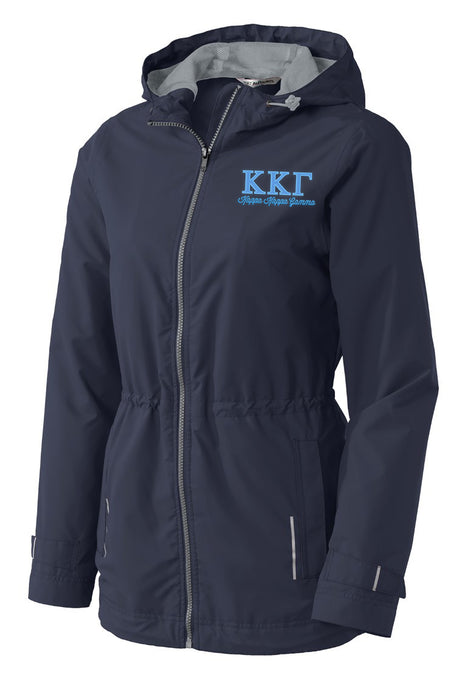 Kappa Kappa Gamma Embroidered Ladies Northwest Slicker