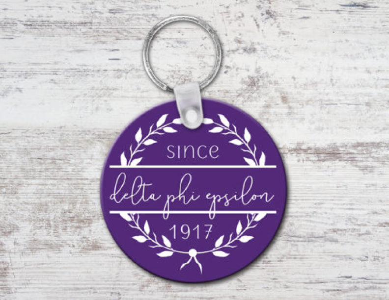Delta Phi Epsilon Since Established Keyring