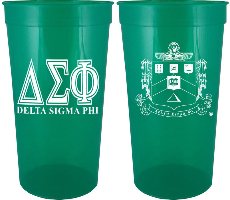 Delta Sigma Phi Fraternity New Crest Stadium Cup