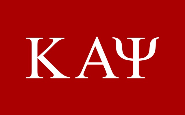 Kappa Alpha Psi Fraternity Flag Sticker