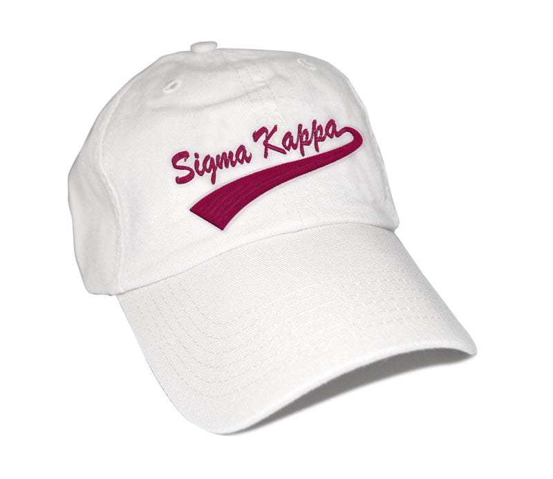 Sigma Kappa New Tail Baseball Hat