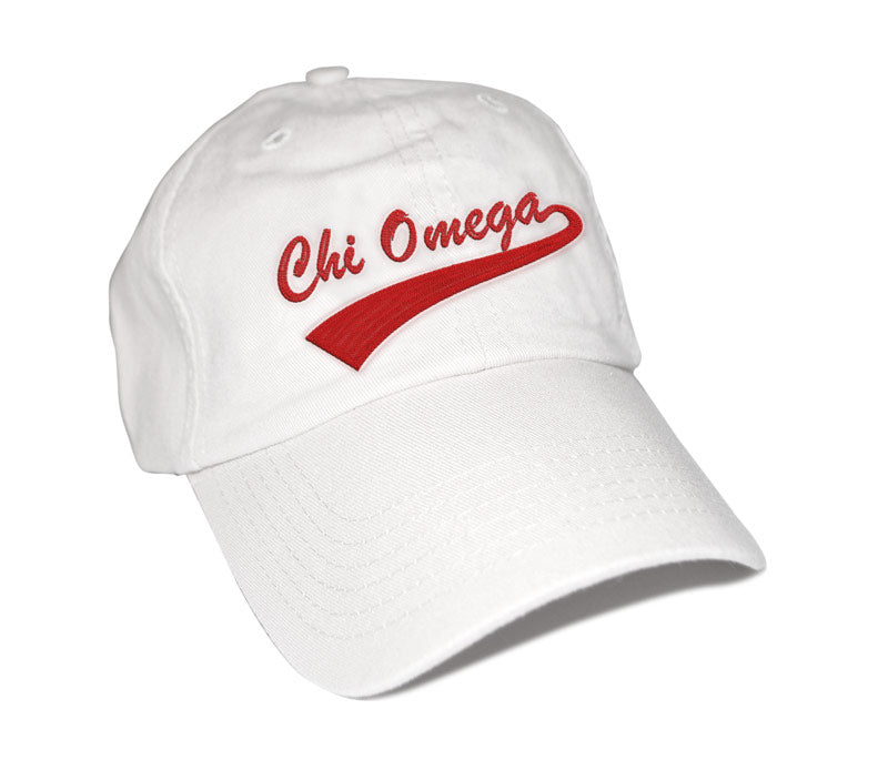 Chi Omega New Tail Baseball Hat