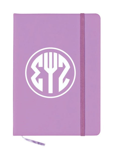 Sigma Psi Zeta Monogram Notebook