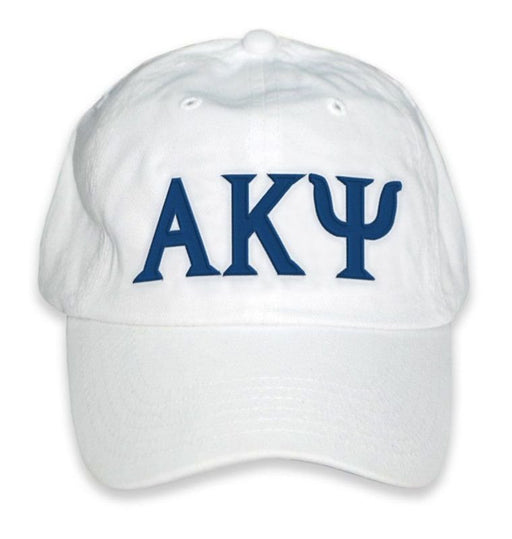 Alpha Kappa Psi Greek Letter Embroidered Hat