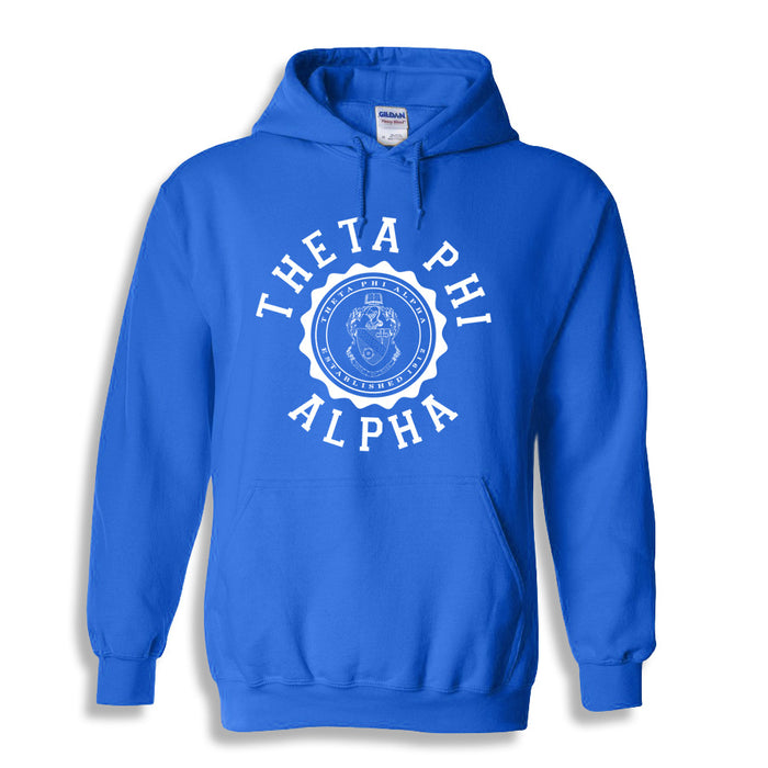 Theta Phi Alpha World Famous Seal Crest Hoodie