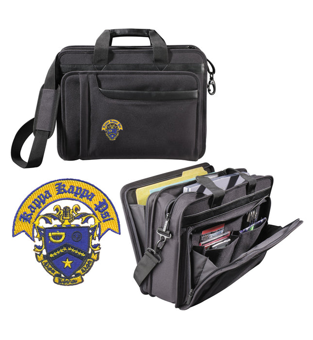Kappa Kappa Psi Attache Crest Briefcase