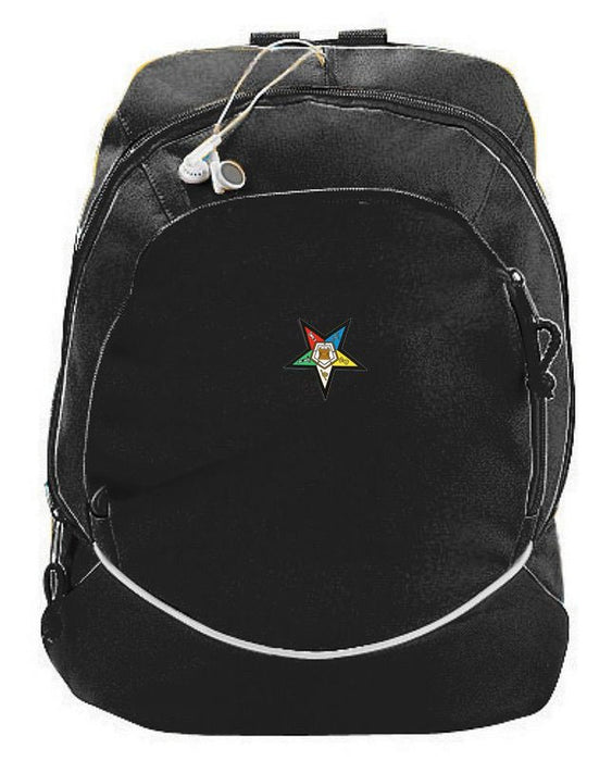 Order Of Eastern Star Crest Backpack