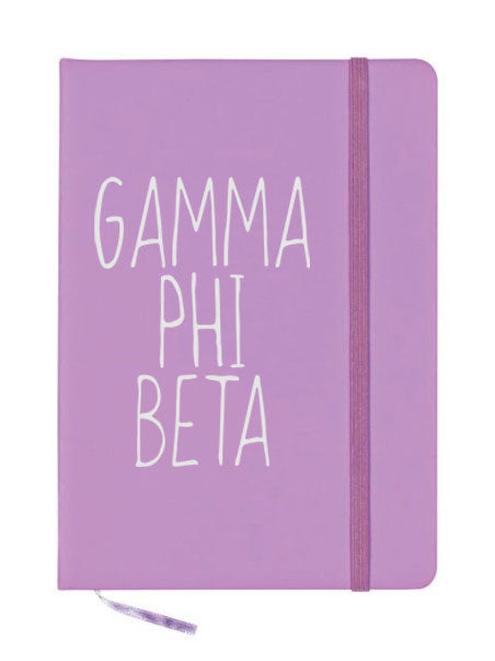 Gamma Phi Beta Mountain Notebook