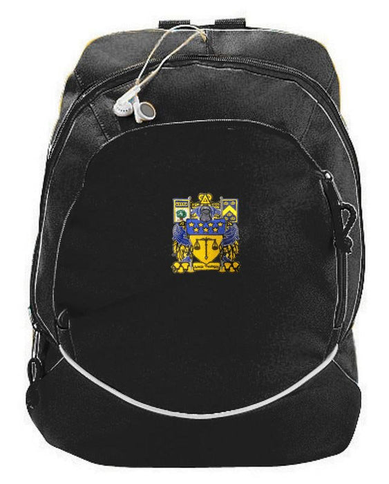 Delta Upsilon Crest Backpack