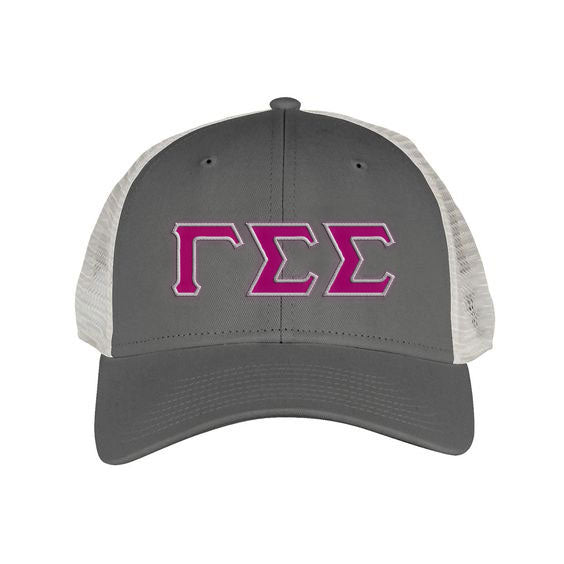 Gamma Sigma Sigma Greek Trucker Cap