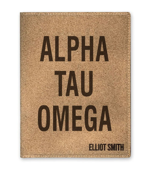 Alpha Tau Omega Cork Portfolio with Notepad