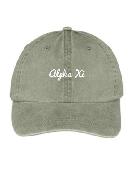 Alpha Xi Delta Nickname Embroidered Hat
