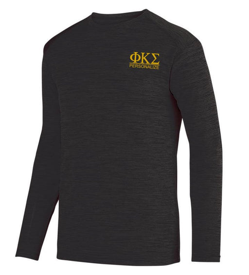 Phi Kappa Sigma $20 World Famous Dry Fit Tonal Long Sleeve Tee