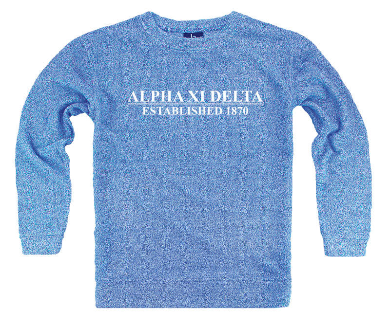 Alpha Xi Delta Year Established Cozy Sweater