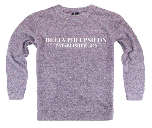 Delta Phi Epsilon Year Established Cozy Sweater