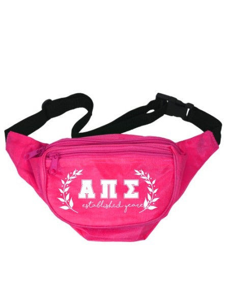 Alpha Pi Sigma Laurel Fanny Pack