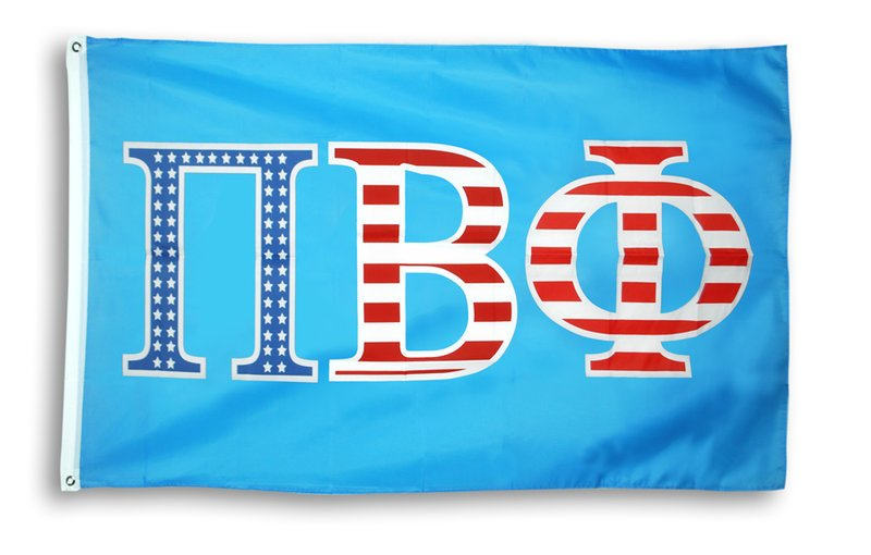 Pi Beta Phi Patriotic Flag