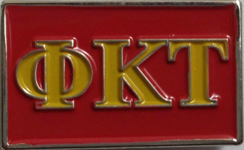 Phi Kappa Tau Fraternity Flag Pin