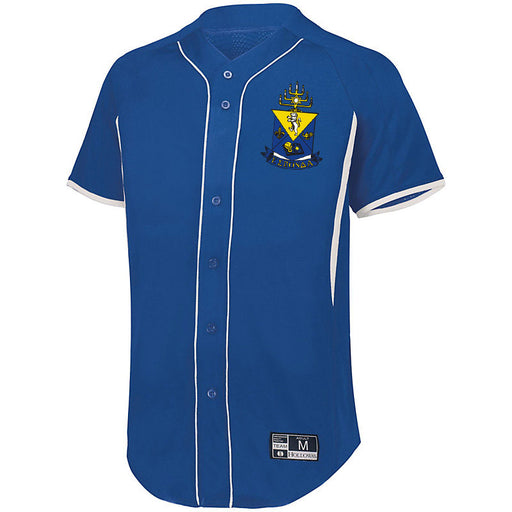 7 Full Button Baseball Jersey