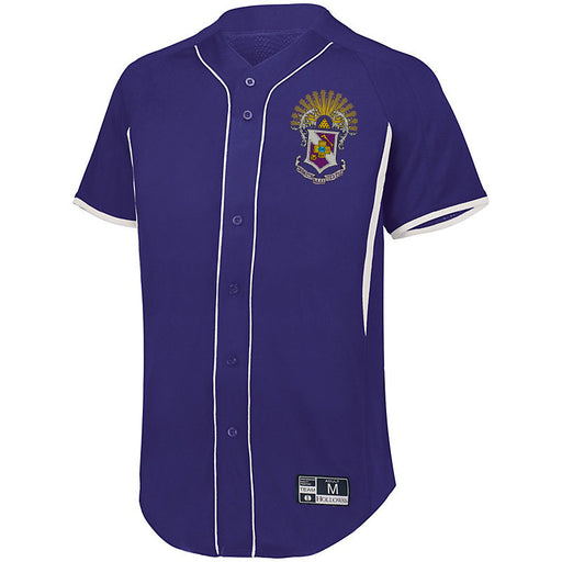 Sigma Pi 7 Full Button Baseball Jersey