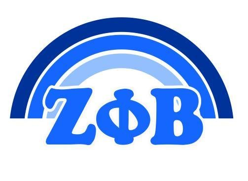 Zeta Phi Beta End of The Rainbow Sorority Decal
