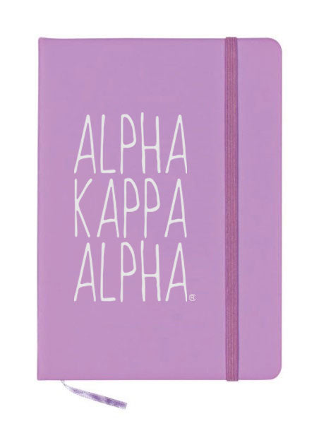 Alpha Kappa Alpha Mountain Notebook