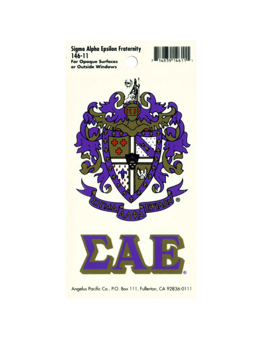 Sorority Crest Decal